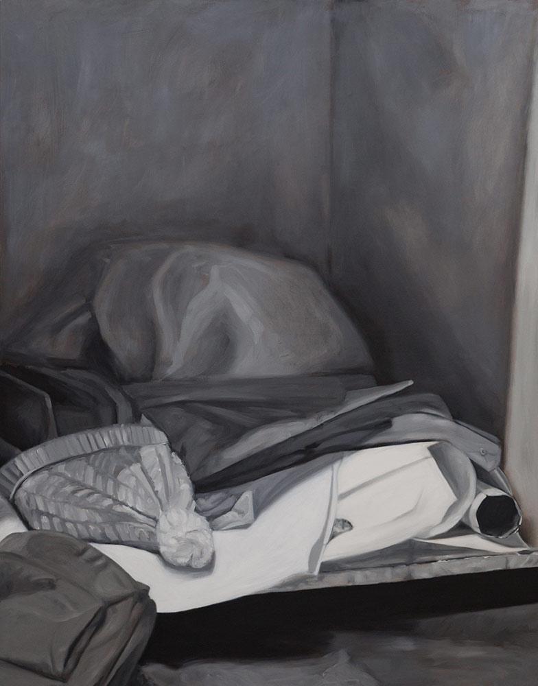 Im Atelier VI (Das Versteck)
